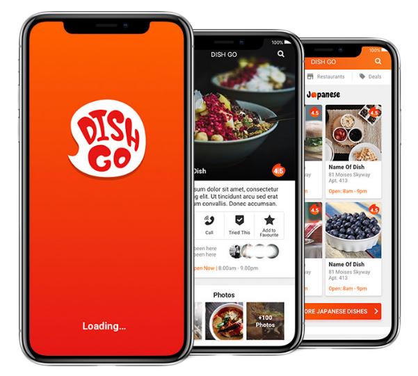 DishGo header