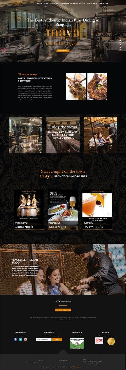 maya homepage