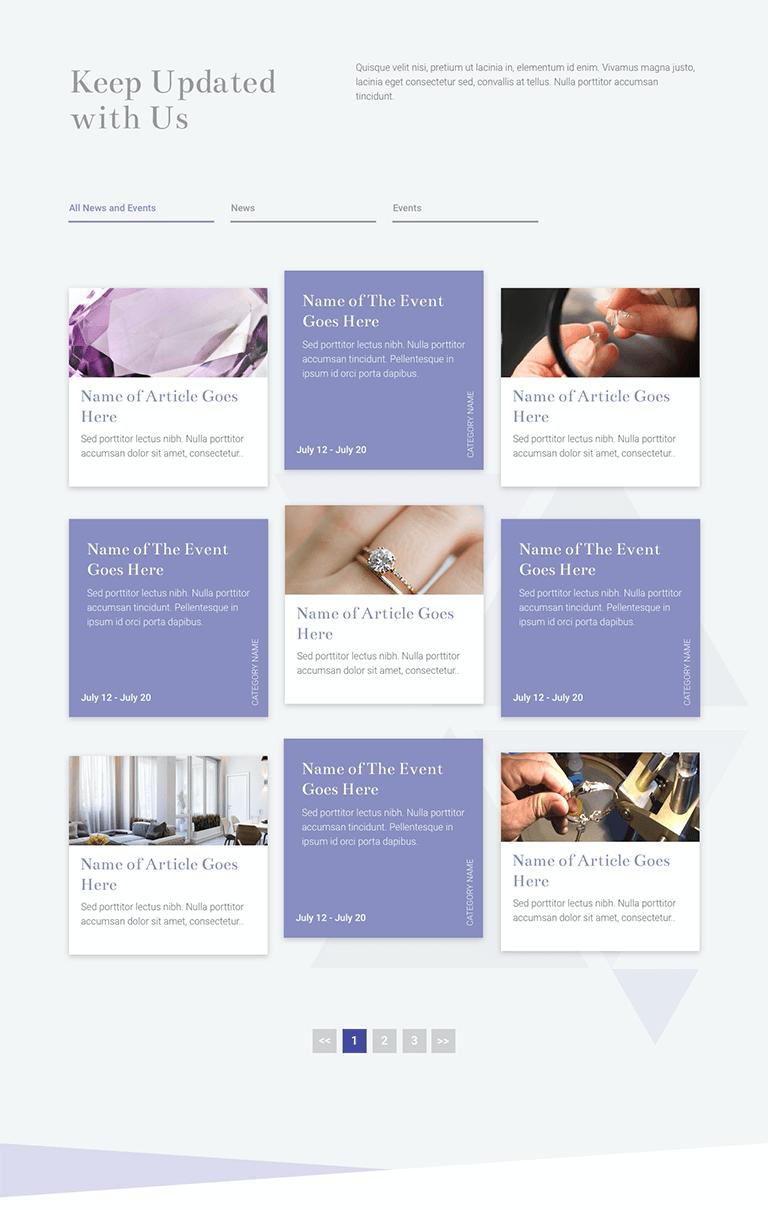 The Gem School Website Design and Development