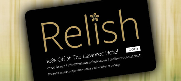 Hotel Relish loyalty card