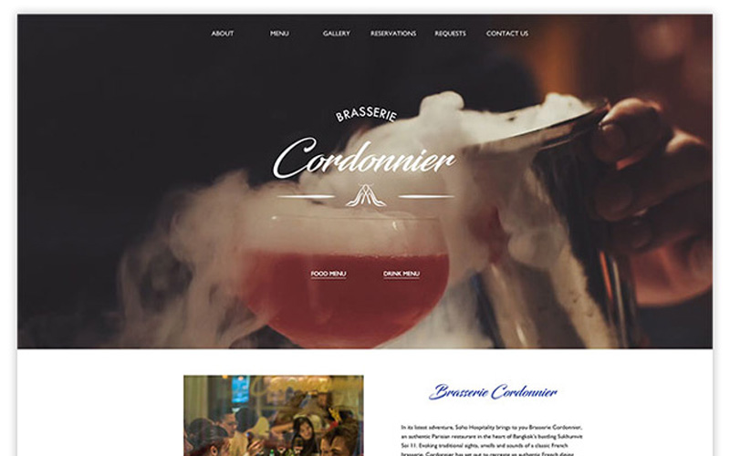 Cordonnier website